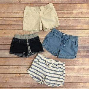 Girl's Summer Shorts Bundle